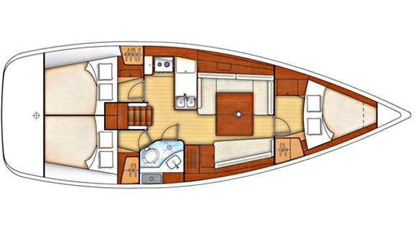 Discovery - 3 cabins