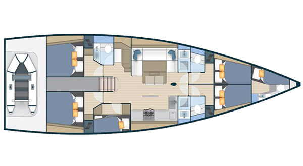 Discovery - 5 cabins