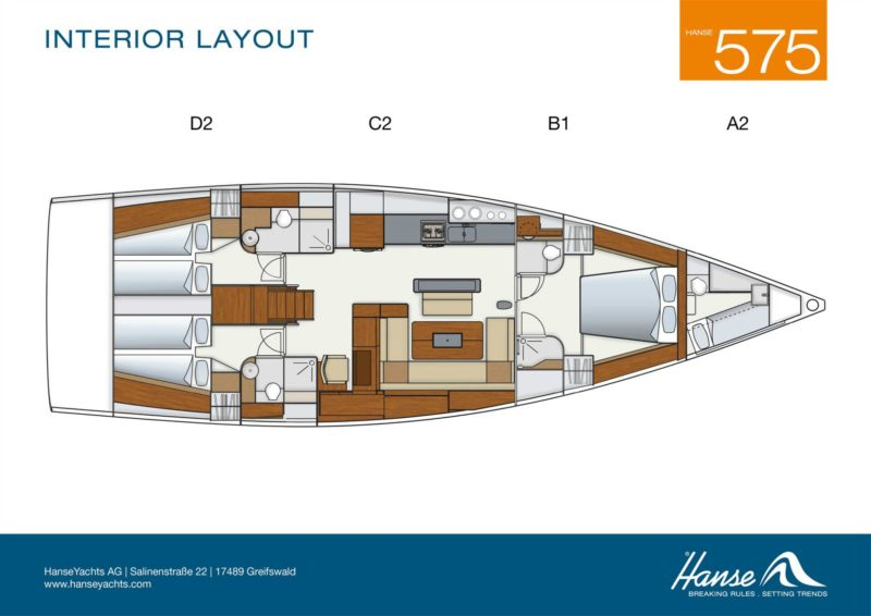 Hanse 575